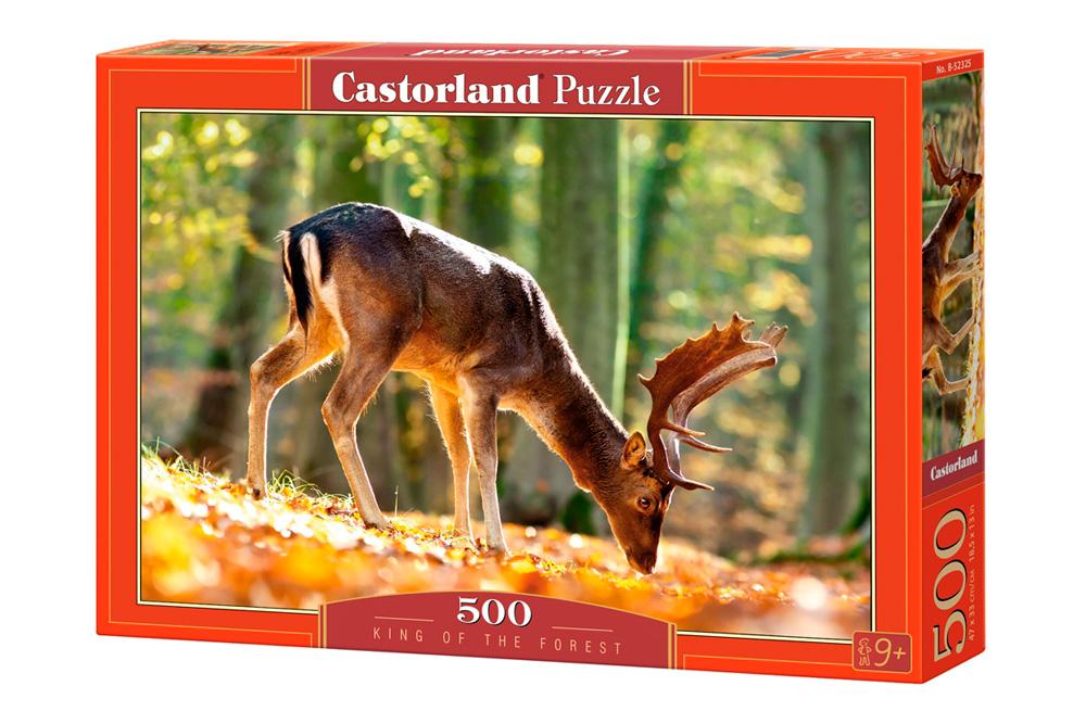 Puzzle Castorland El Rey del Bosque de 500 Piezas