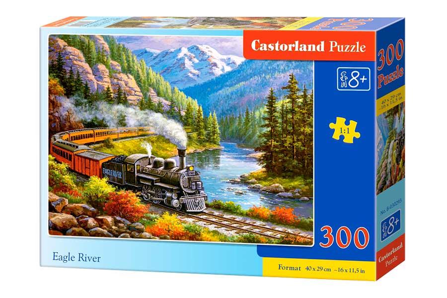 Puzzle Castorland El Tren