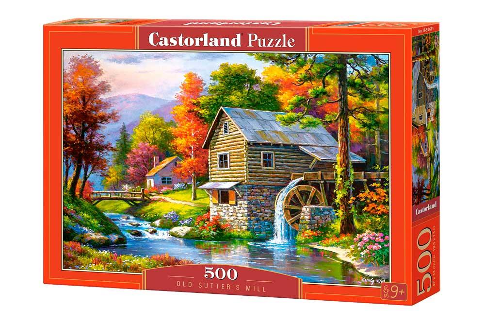 Puzzle Castorland El Viejo Molino de Sutter 500 Piezas