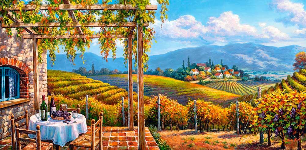 Puzzle Castorland El Viñedo de 4000 Piezas