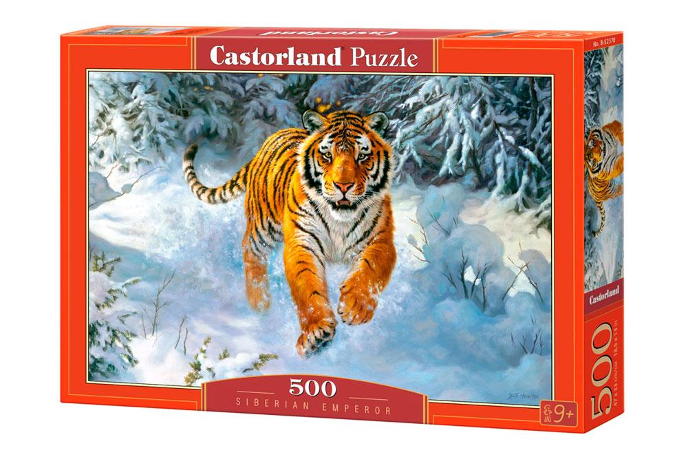 Puzzle Castorland Emperador Siberiano de 500 Piezas
