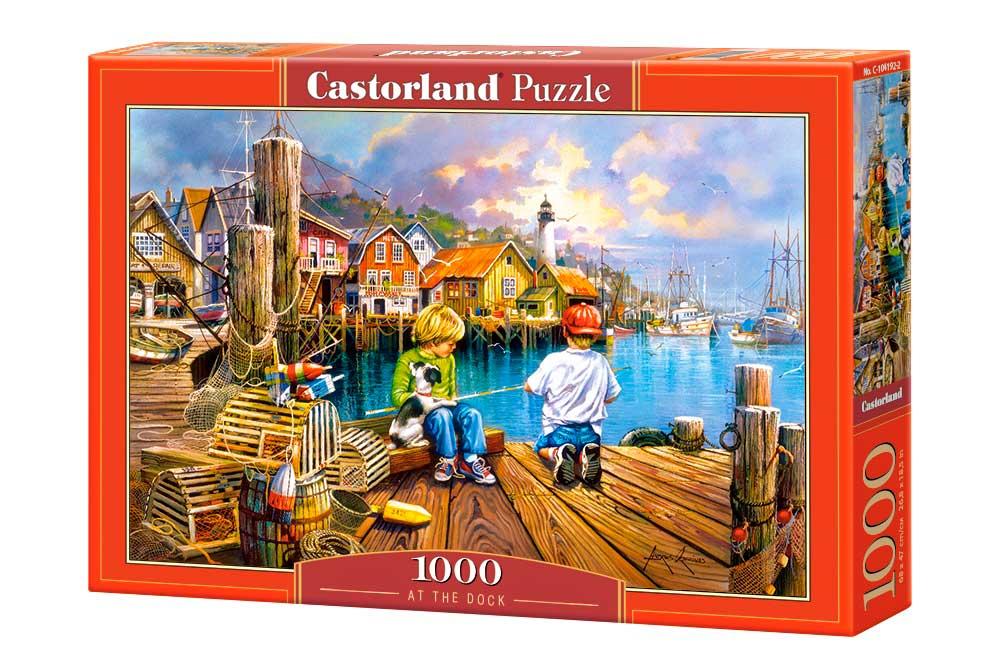 Puzzle Castorland En el Muelle de 1000 Piezas