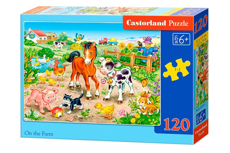 Puzzle Castorland En La Granja de 120 Piezas
