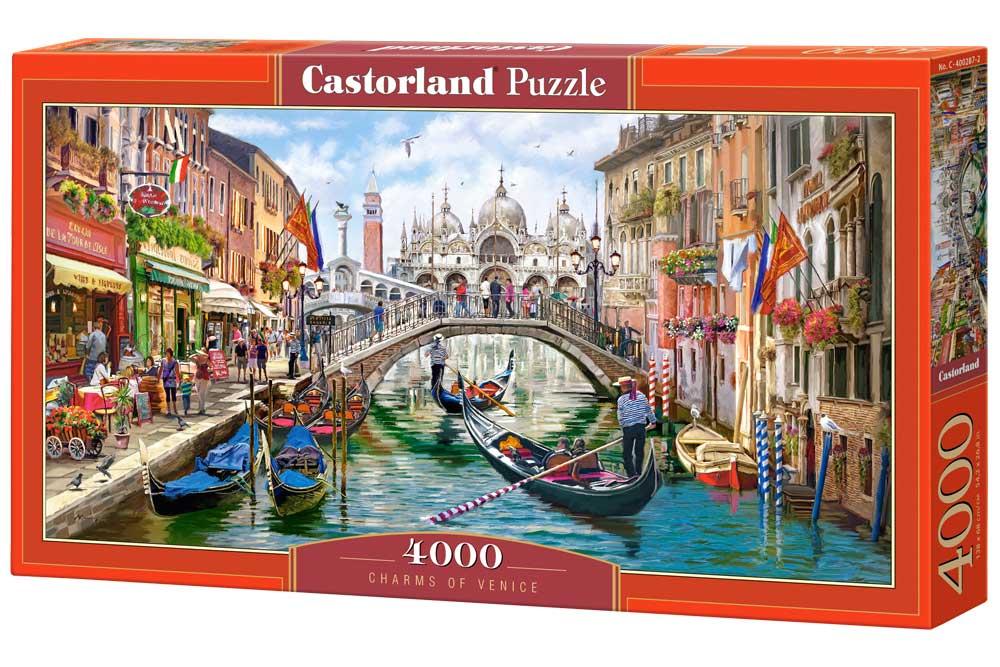 Puzzle Castorland Encanto de Venecia de 4000 Piezas