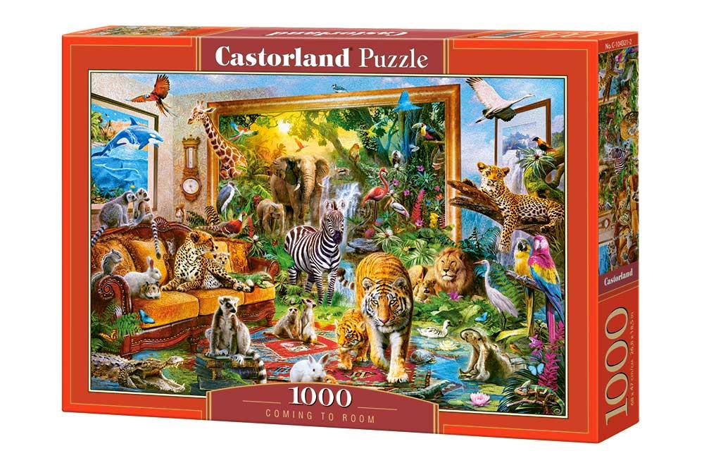 Puzzle Castorland Entrando en la Habitación de 1000 Piezas
