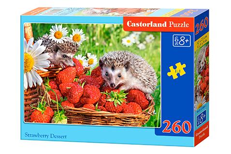 Puzzle Castorland Erizos y Fresas de 260 Piezas