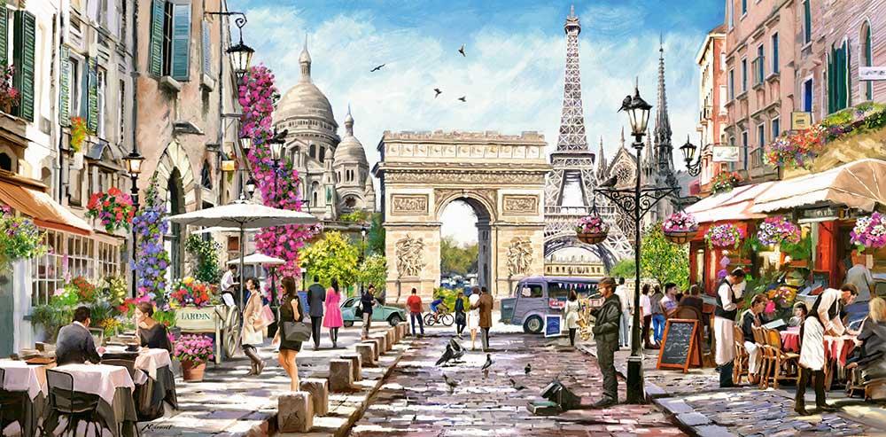 Puzzle Castorland Esencia de París de 4000 Piezas