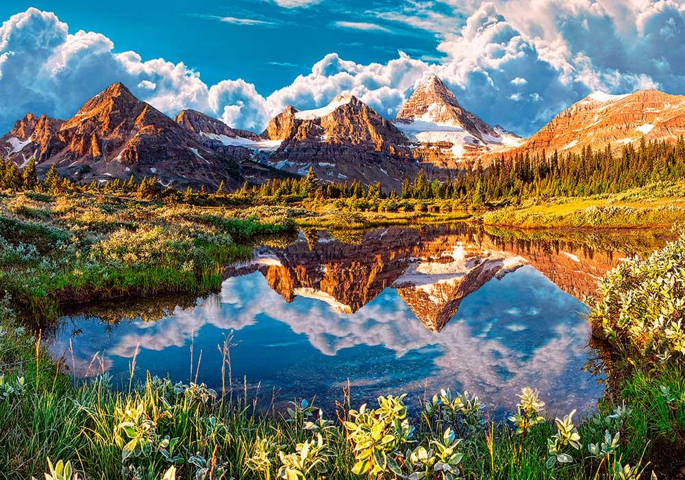 Puzzles de Paisajes, Puzzle Castorland Espejo en las Montañas de 500 Piezas