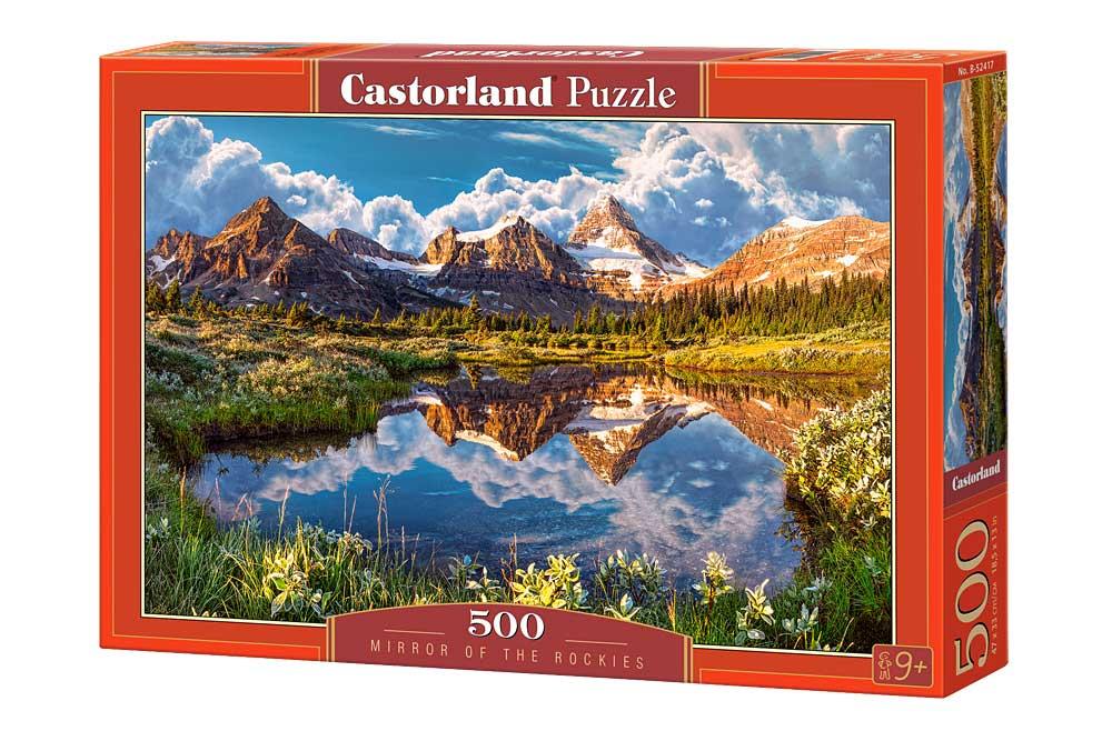 Puzzle Castorland Espejo en las Montañas de 500 Piezas
