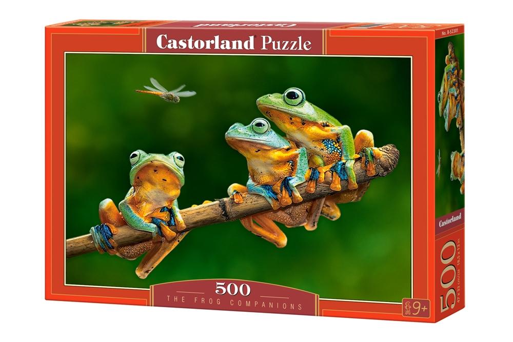 Puzzle Castorland Esperando la Merienda de 500 Piezas