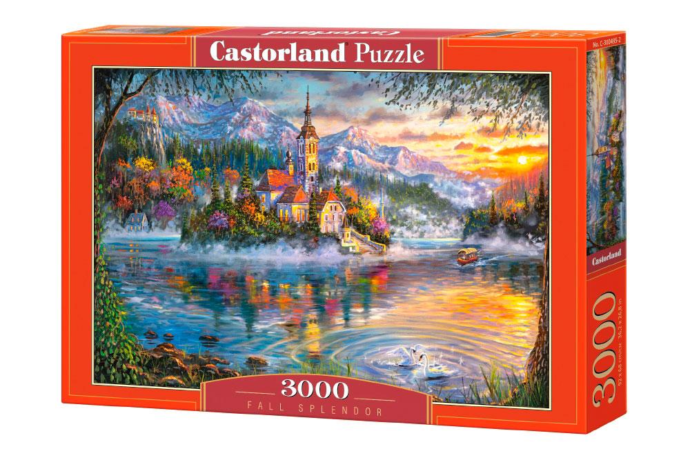 Puzzle Castorland Esplendor Otoñal de 3000 Piezas