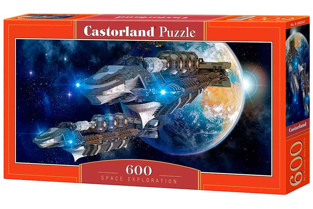 Puzzle Castorland Exploración Espacial de 600 Piezas