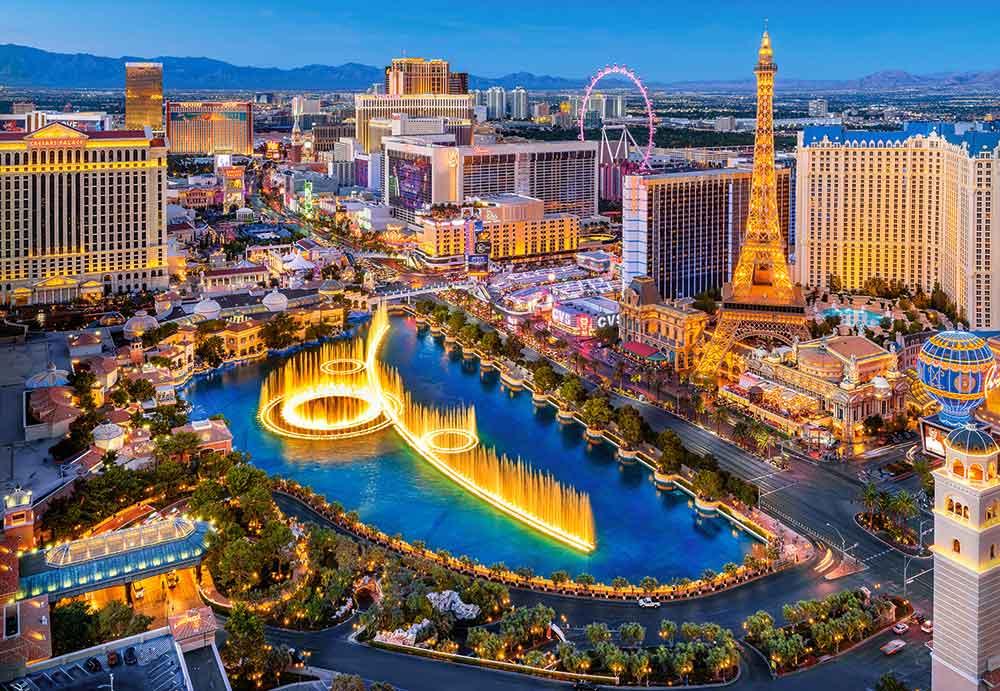 Puzzle Castorland Fabulosa Las Vegas de 1500 Piezas