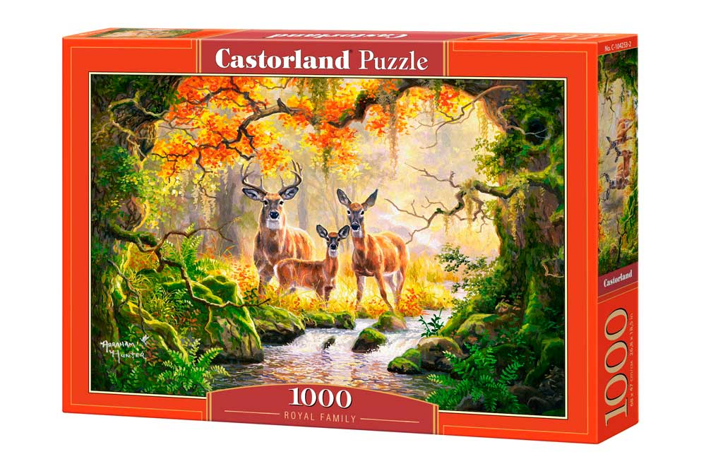 Puzzle Castorland Familia Real de 1000 Piezas