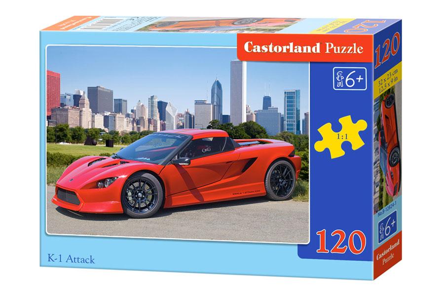 Puzzle Castorland Ferrari K1- Attack de 120 Piezas