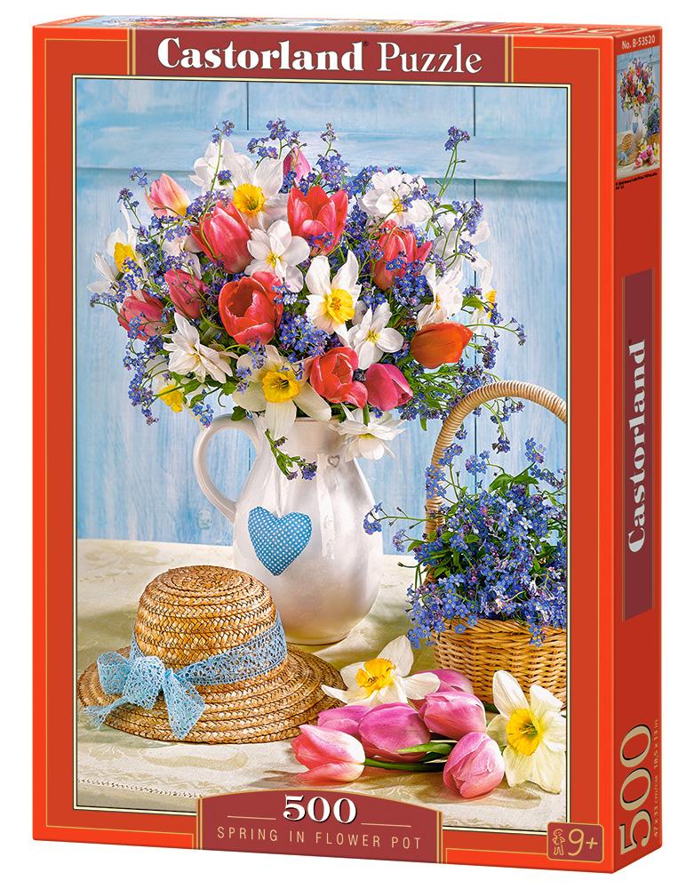 Puzzle Castorland Florero de Primavera de 500 Piezas