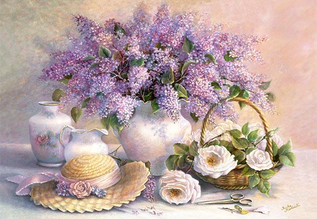 Puzzle Castorland Flores del Dia de 1000 Piezas