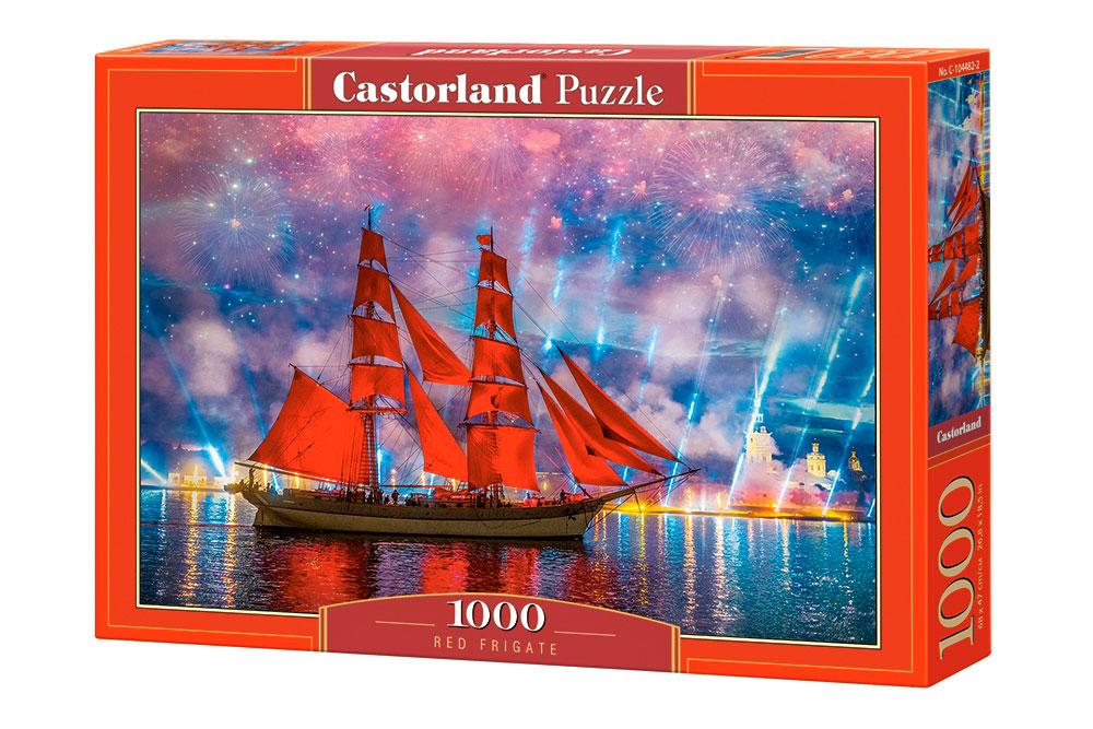 Puzzle Castorland Fragata Roja de 1000 Piezas