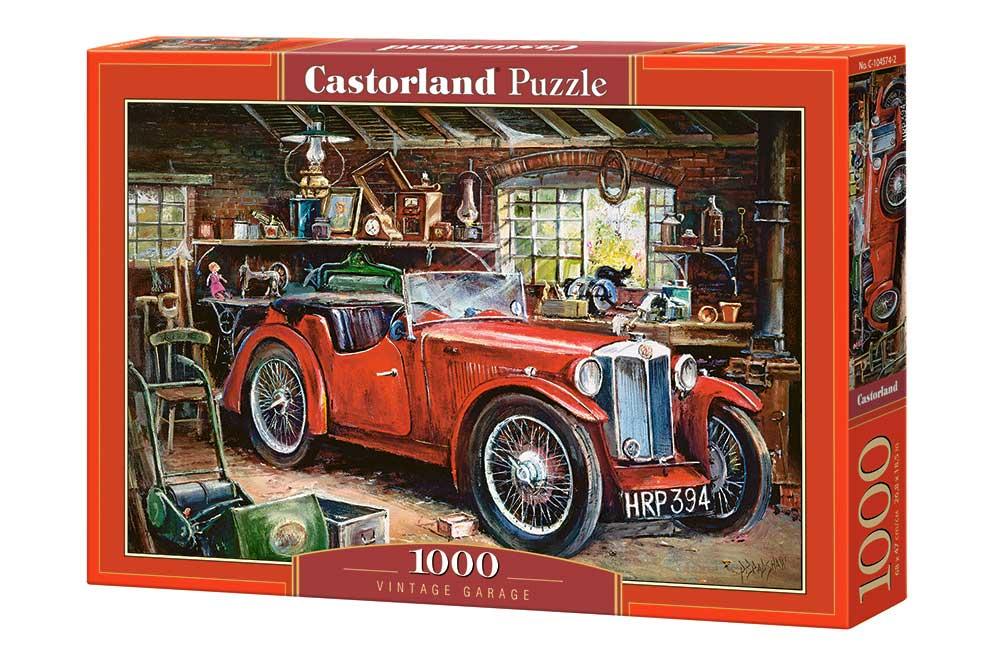 Puzzle Castorland Garaje Vintage de 1000 Piezas