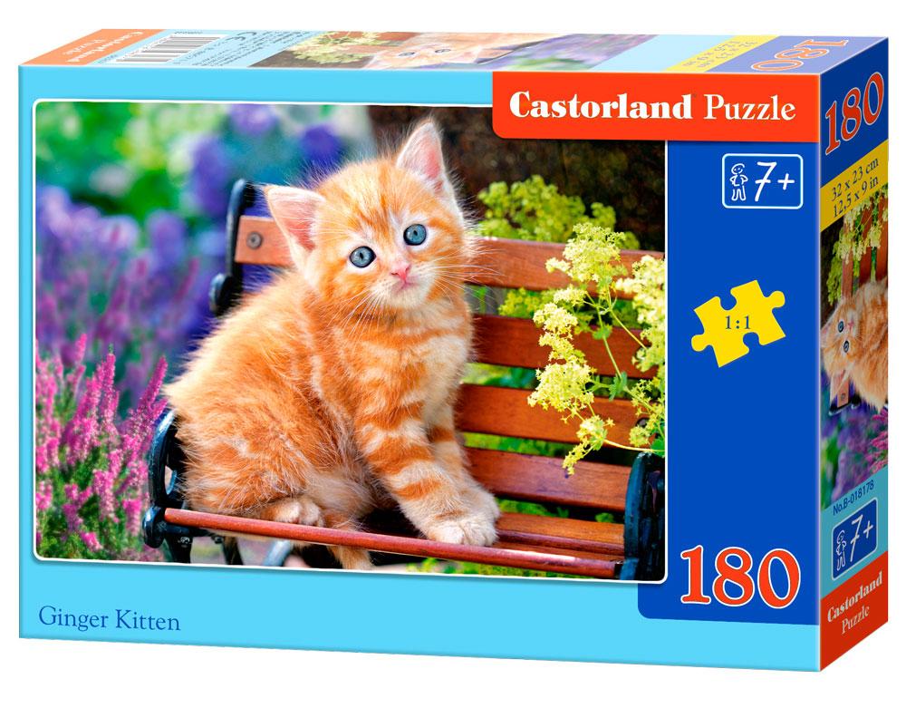Puzzle Castorland Gatito Rubio de 180 Piezas