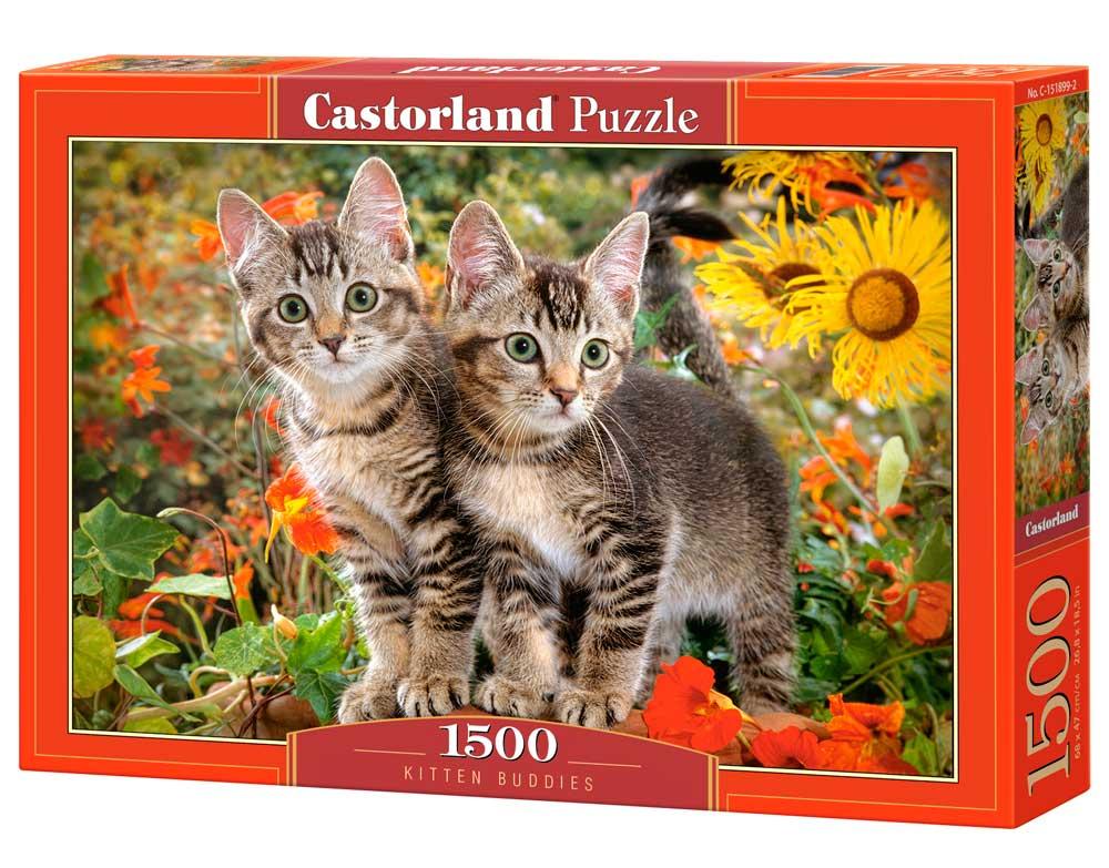 Puzzle Castorland Gatitos Colegas de 1500 Piezas