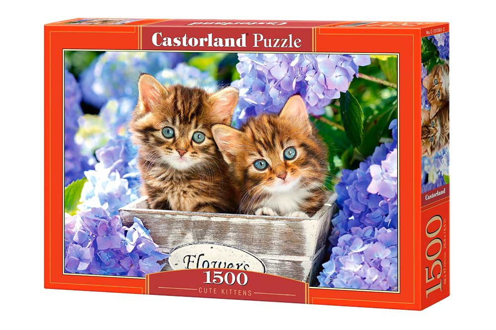 Puzzle Castorland Gatitos lindos 1500 Piezas
