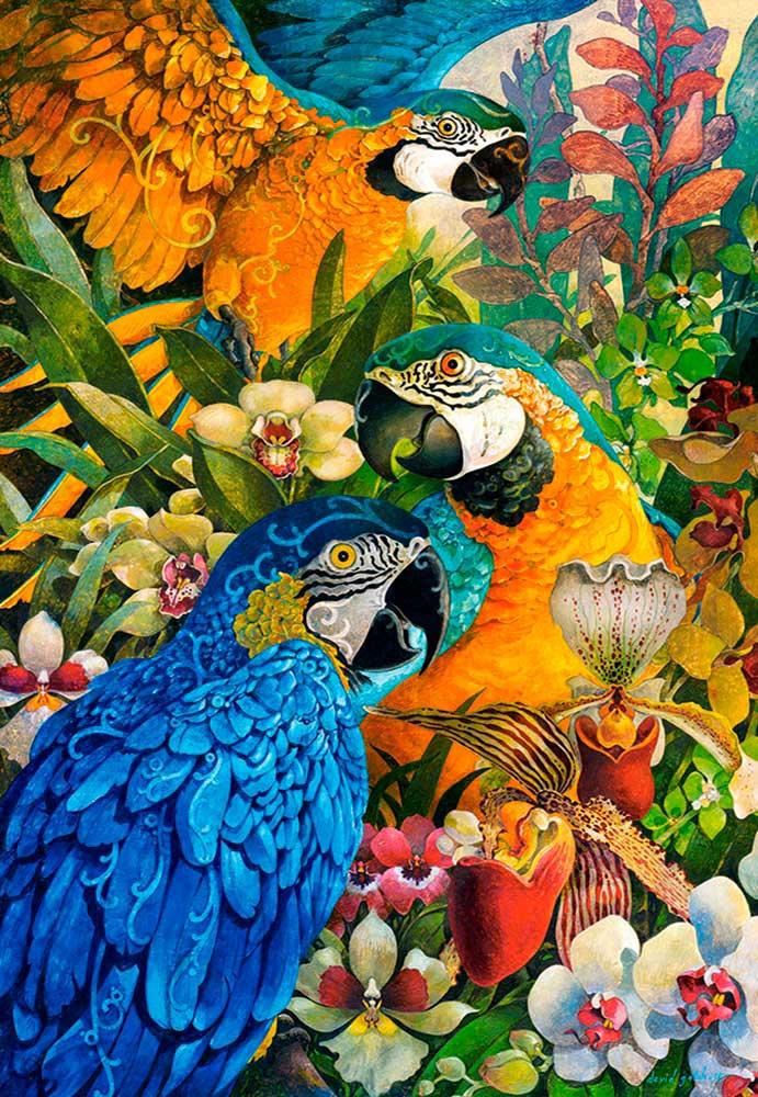 Puzzle Castorland Guacamayos del Amazonas de 1000 Piezas