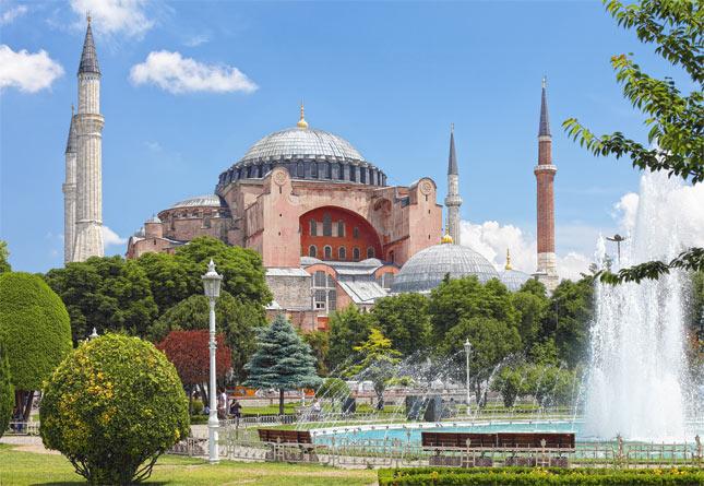 Puzzle Castorland Hagia Sofía, Estambul, Turkia de 1000 Piezas