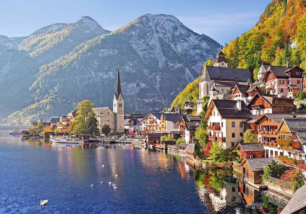 Puzzle Castorland Hallstatt, Austria de 500 Piezas