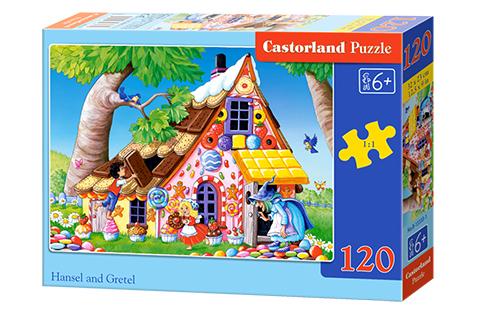 Puzzle Castorland Hansel y Gretel de 120 Piezas