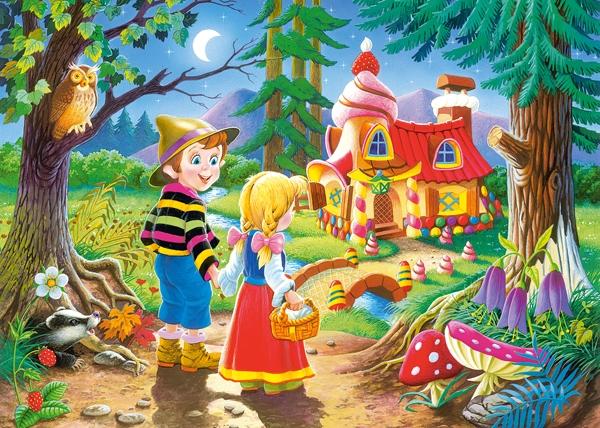 Puzzle Castorland Hansel y Gretel de 60 Piezas