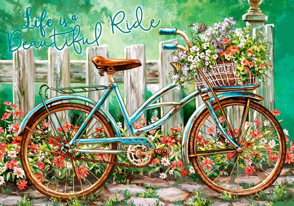 Puzzle Castorland Hermoso Paseo en Bici de 500 Piezas