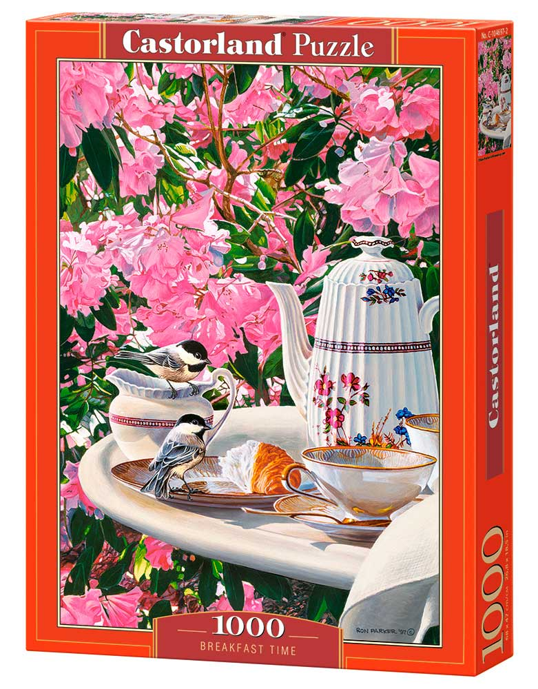 Puzzle Castorland Hora del Desayuno de 1000 Piezas