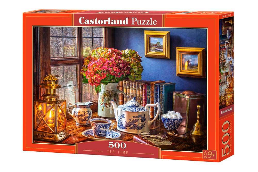 Puzzle Castorland Hora del Té de 500 Piezas