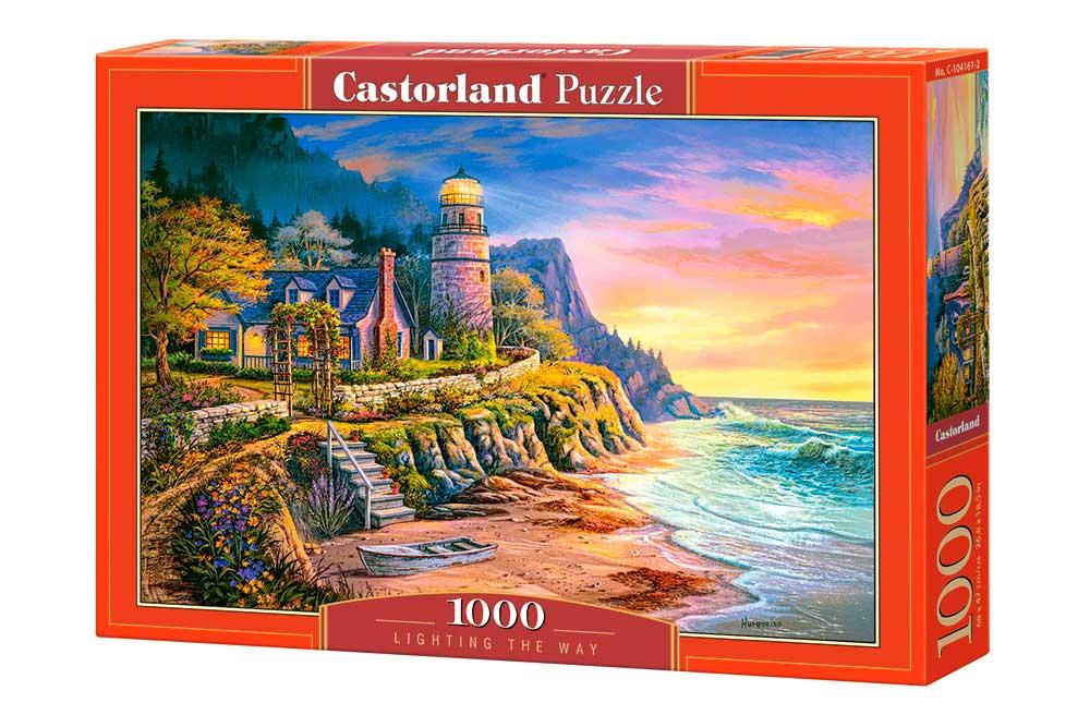 Puzzle Castorland Iluminando el Camino de 1000 Piezas