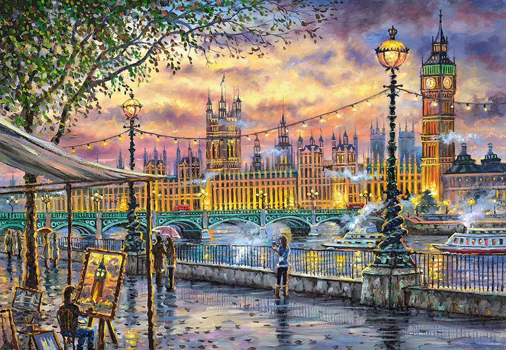 Puzzle Castorland Inspiraciones de Londres de 1000 Piezas
