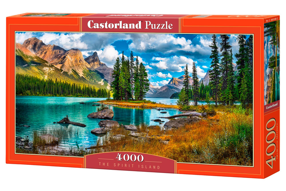 Puzzle Castorland Isla de los Espíritus de 4000 Piezas