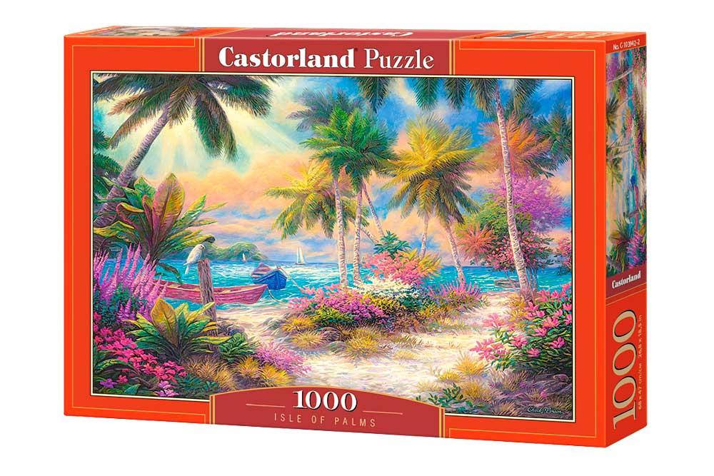Puzzle Castorland Isla de Palmas de 1000 Piezas
