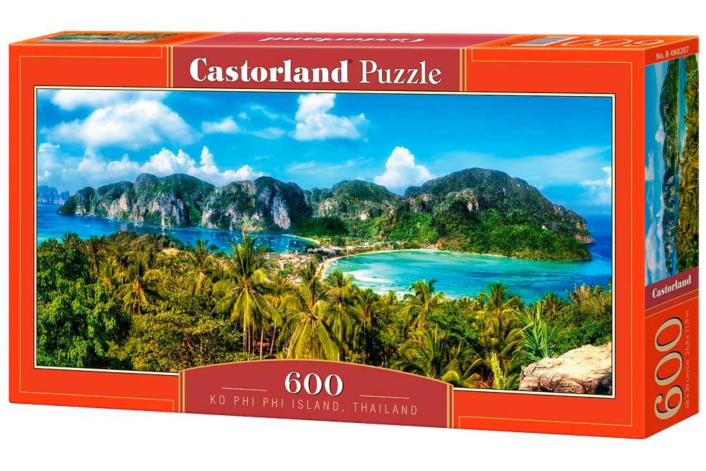 Puzzle Castorland Isla Ko Phi Phi, Tailandia de 600 Piezas