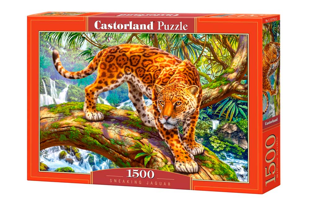 Puzzle Castorland Jaguar Sigiloso de 1500 Piezas