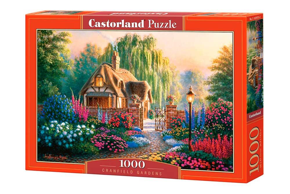 Puzzle Castorland Jardines en Cranfield de 1000 Piezas