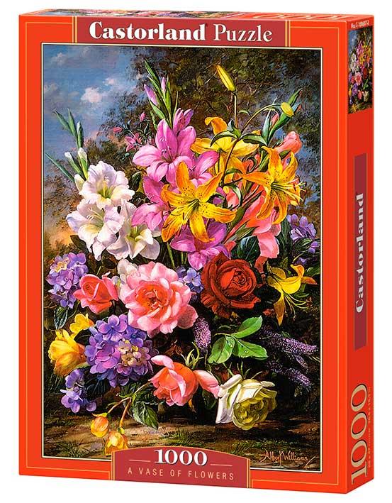 Puzzle Castorland Jarrón de Flores de 1000 Piezas
