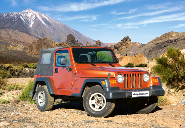 Puzzle Castorland Jeep Wrangler de 1000 Piezas