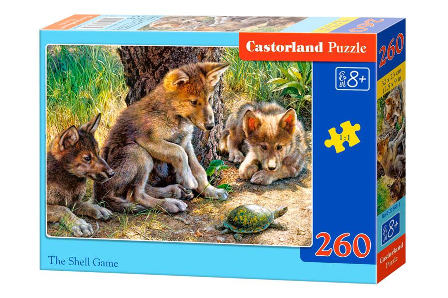 Puzzle Castorland Jugando con una Tortuga de 260 Piezas