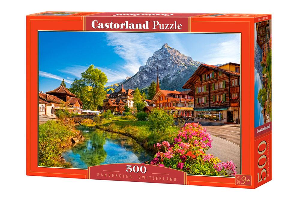 Puzzle Castorland Kandersteg, Suiza de 500 Piezas