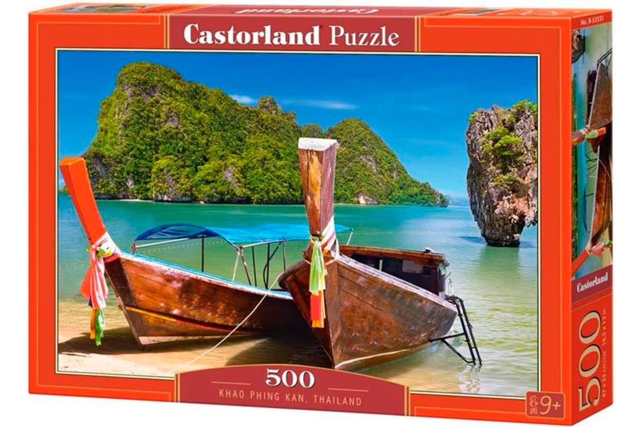 Puzzle Castorland Khao Phing Kan, Tailandia de 500 Piezas
