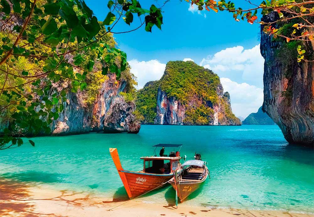 Puzzle Castorland Ko Phi Phi Le, Tailandia de 1000 Piezas