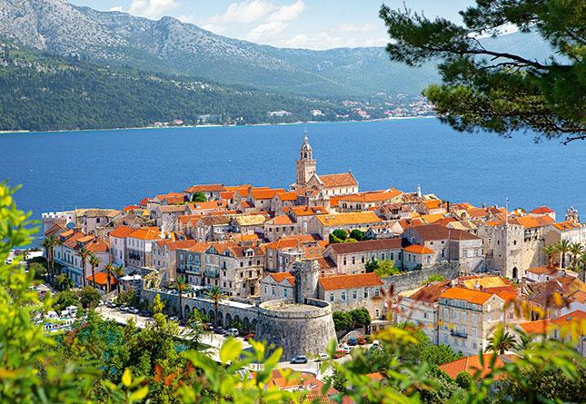 Puzzle Castorland Korcula, Croacia de 3000 Piezas