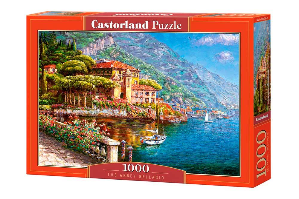 Puzzle Castorland La Abadía Bellagio de 1000 Piezas