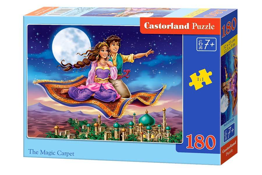 Puzzle Castorland La Alfombra Mágica de 180 Piezas